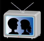 Television show Royalty Free Stock Photo