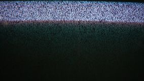 Television signal tv noise screen with static caused flicker a by bad reception. Television signal tv noise screen with static caused flicker by bad reception stock footage