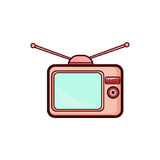 Television simple icon Stock Photos