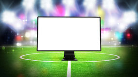 Television for sport Royalty Free Stock Images