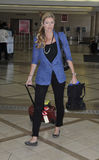 Television sports presenter Erin Andrews at LAX Royalty Free Stock Images