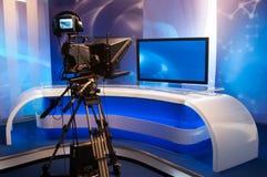 Television studio Stock Photos