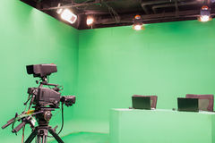 Television studio Royalty Free Stock Images