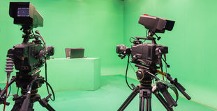 Television studio Royalty Free Stock Photography