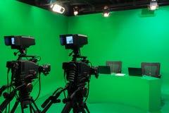 Television studio Stock Image