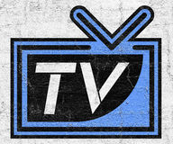 Television symbol Stock Photos