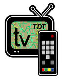 Television tech Royalty Free Stock Photography