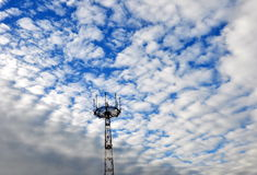 A television tower. Royalty Free Stock Images