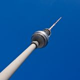Television tower on Alexanderplatz, Berlin Royalty Free Stock Photo
