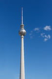 The Television Tower at Alexanderplatz, Berlin, Germany Stock Photo