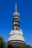 Television tower with antennas Stock Images