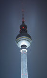 Television Tower in Berlin Stock Photography