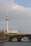 Television tower, Berlin Royalty Free Stock Images