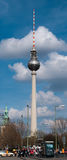 The television tower of Berlin Royalty Free Stock Image