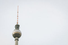 Television Tower in Berlin Stock Image