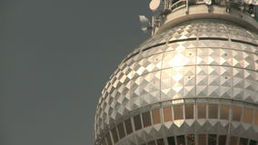 Television Tower Berlin stock footage