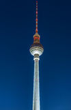 The television tower in Berlin Stock Photography
