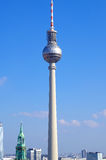 Television tower in berlin, germany Stock Image