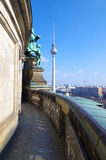 Television tower in berlin, germany Stock Photos
