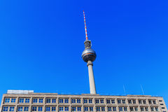 Television Tower of Berlin, Germany Royalty Free Stock Image
