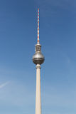 Television tower Berlin, Germany. Television tower located at Alexanderplatz in Berlin, Germany Stock Image