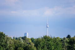 Television tower berlin Stock Photography