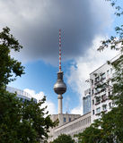 Television Tower of Berlin Royalty Free Stock Image