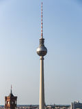 Television tower berlin Royalty Free Stock Image