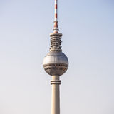 Television tower berlin Royalty Free Stock Photos