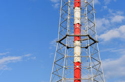 Television tower fragment Stock Photos