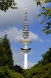 Television tower in Hamburg Royalty Free Stock Image