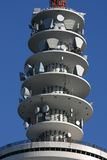 Television Tower III. A picture of the technic of a tv tower Stock Images