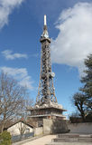 Television tower in Lyon, France. Royalty Free Stock Photo