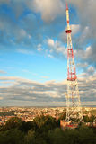 Television tower. Royalty Free Stock Photos