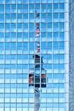 Television Tower reflected on skyscraper in Berlin Royalty Free Stock Photography