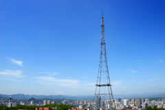The television tower Royalty Free Stock Photography