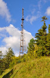 Television tower. Sukhum. Abkhazia Royalty Free Stock Image