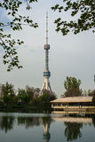 Television tower in Tashkent Royalty Free Stock Photos