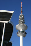 Television Tower VII. A picture of the technic of a tv tower Royalty Free Stock Photography