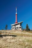 Television Transmitter on Lysa Hora Stock Image