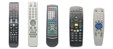 Television TV Remote Royalty Free Stock Image