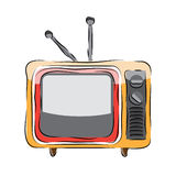 Television Vector Stock Images