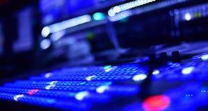 Television Video Mixer Stock Image