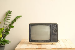 Television  Vintage tone Royalty Free Stock Photo