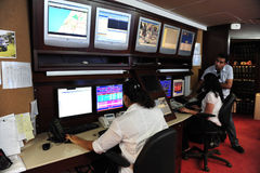 Televisione a circuito chiuso Immagini Stock Libere da Diritti