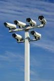 Televisione a circuito chiuso (cctv) Fotografie Stock Libere da Diritti