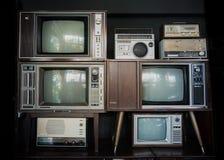 Televisione d'annata immagine stock libera da diritti