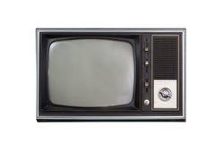 Televisione d'annata Fotografia Stock