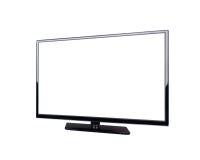 Televisione del LED per l'alta esposizione di definizione Fotografia Stock Libera da Diritti