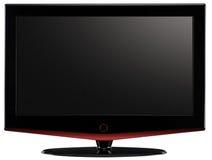 Televisione dell'affissione a cristalli liquidi. Fotografie Stock